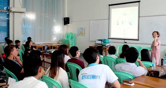 Talk- AIESEC Myanmar